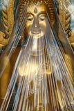 Ray of light on Buddha Image. Royalty Free Stock Photos