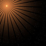 Ray of light - star background Stock Photos