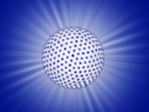 Ray of lights sphere Stock Photography