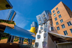 Ray and Maria Stata Center on the campus of MIT Royalty Free Stock Image