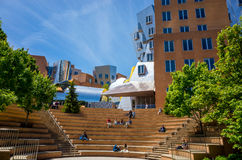 Ray and Maria Stata Center on the campus of MIT Royalty Free Stock Photography