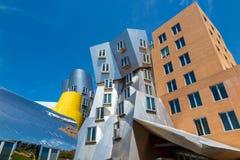Ray och Maria Stata Center på universitetsområdet av MIT arkivfoto