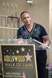 Ray Parker Jr honored  on the Hollywood Walk of Fame Stock Photo