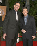 Ray Romano, Brad Garrett Fotos de Stock Royalty Free