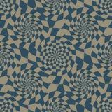 Ray twist headache seamless pattern Stock Photo