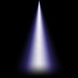 Ray światło od above Zdjęcie Royalty Free