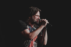 Ray Wilson concert Royalty Free Stock Photography
