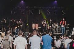 Ray Wilson koncert obrazy royalty free