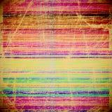 Raya colorida del Grunge libre illustration