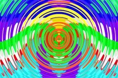 Raya creativa en el fondo Imagen de archivo libre de regalías