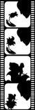 Raya de la película Imágenes de archivo libres de regalías