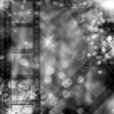 Raya de la película del grano Foto de archivo libre de regalías