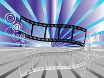 Raya de la película Fotos de archivo libres de regalías