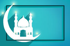Raya Eid Greeting Card Foto de Stock Royalty Free