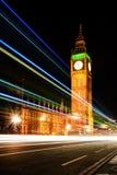 Raya grande de la luz de Ben Night Imagen de archivo libre de regalías