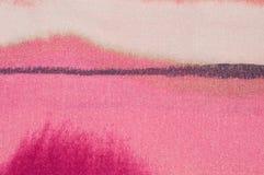 Raya horizontal en rosa abstracto Imagenes de archivo