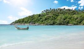 Raya Island beach near Phuket Island, Thailand Royalty Free Stock Images