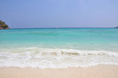 Raya island beach of Phuket Thailand Royalty Free Stock Photos