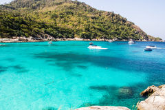 Raya islands, Thailand, Phuket Royalty Free Stock Image