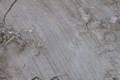 Rayado seco de la arcilla Foto de archivo