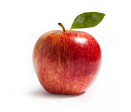 Rayal gala apple on white Royalty Free Stock Photography