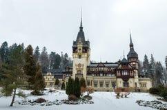 Rayal palace Peles Royalty Free Stock Photography