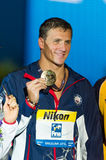 Rayan Lochte (USA) Royalty Free Stock Photography