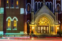 Rayar la iglesia Fotografía de archivo libre de regalías
