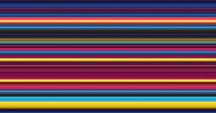 Rayas abstractas del color Fotografía de archivo libre de regalías