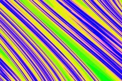 Rayas abstractas del color Libre Illustration
