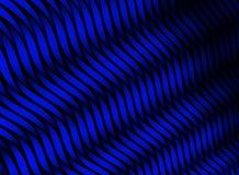 Rayas abstractas del color textura del azul 3D Fotos de archivo