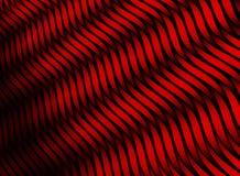 Rayas abstractas del color textura roja 3D Imagen de archivo