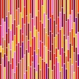 Rayas abstractas en colores calientes Imagenes de archivo