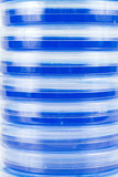 Rayas azules Fotografía de archivo