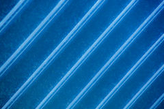 Rayas azules angulosas Fotografía de archivo libre de regalías