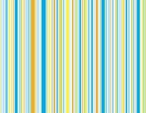 Rayas azules de la playa Imagen de archivo libre de regalías