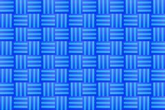 Rayas azules que solapan pintadas ilustración del vector