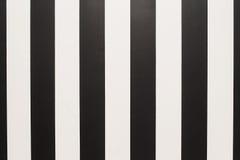 Rayas blancas negras del fondo Foto de archivo