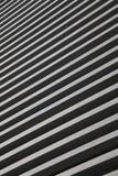 Rayas blancos y negros Fotografía de archivo libre de regalías