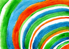 Rayas circundadas Ilustración del Vector