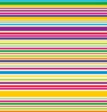 Rayas coloreadas vector Fotografía de archivo libre de regalías