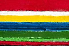 Rayas coloridas de colores Imágenes de archivo libres de regalías