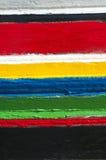 Rayas coloridas de colores Imagen de archivo libre de regalías