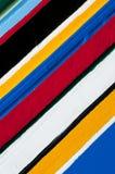Rayas coloridas de colores Fotos de archivo