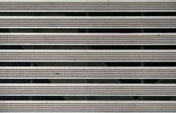 Rayas de aluminio Imágenes de archivo libres de regalías