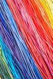 Rayas de cuero del color foto de archivo libre de regalías