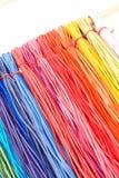 Rayas de cuero del color imagen de archivo