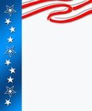 Rayas de Digitaces con las estrellas Imagen de archivo libre de regalías
