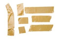 Rayas de la cinta adhesiva fotografía de archivo