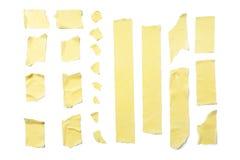 Rayas de la cinta adhesiva Fotografía de archivo libre de regalías